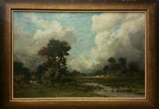 """Oil Painting by Edward Loyal Field (E.L. Field) """"Before the Storm"""""""
