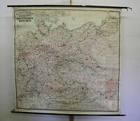 schöne Kontorwandkarte Großdeutschland 1938 175x173 Greater Germany vintage map