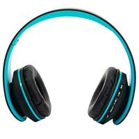 Wireless Foldable Headsets Stereo Headphones Earphones For PC iPhone Sumsang LG