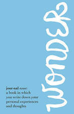 Wonder Journal by R. J. Palacio (Paperback, 2015)