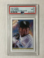 LUIS ROBERT 2020 Topps Game Within Game SP RC! PSA MINT 9! WHITE SOX! QTY!!!!!