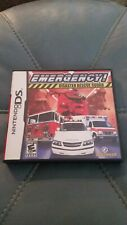 Emergency Disaster Rescue Squad (Nintendo DS, 2009). Complete game. Very nice