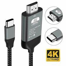 Type C zu HDMI HDTV AV TV 4K Kabel für Samsung Galaxy S9 S10 Note 9 für MacBook