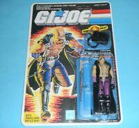 *RECARDED* 1986 GI Joe Cobra Dr Mindbender Figure Complete Sealed File Card Back