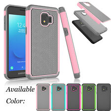 For Samsung Galaxy J2 2019/J2 Core/J2 Pure Shockproof Hybrid Rubber Case Cover