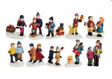Figurines de Noël multicolore pour la maison