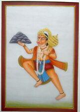 Hanuman God  painting decorative  miniature wall hanging art work indian god