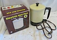 Vintage Electric Hot Pot 4 Cup Size Great for Tea or Soup