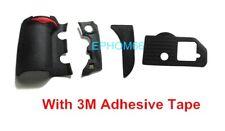 New For Nikon D700 DSLR 4 Pieces Body Cover Shell Grip Rubber Unit +3M Tape