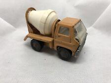 Vintage 1970 Marx Toys Cement Mixer Truck - Pressed Steel - Louis Marx & Co.