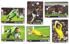 Panini EURO 2012 - Set 6 Sondersticker Manuel Neuer Coca Cola