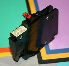 Federal Pacific 15 Amp Thin Stab Lock Breaker Nice