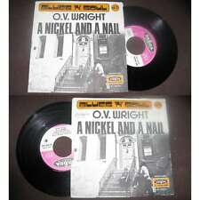 O.V.Wright - A Nickel And A Nail Rare French PS Blues Funk 1971