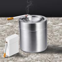 Portable Car Ashtray Mini Windproof Cigarette Lidded Ashtray Cigarette Case Box