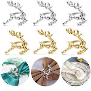 DIY Handwerk Hirsch Der Mundring Elch Christmas Supplies Ring aus Napkin