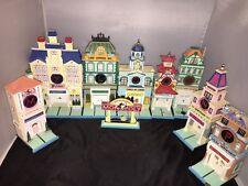 Department 56 Monopoly Lot 9 Piece Set