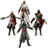 Assassin's Creed I II III Altair,Ezio,Connor,Edward PVC Figures Boxed Figure Toy