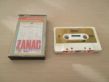 >> very rare zanac compiles shoot msx tape k7 European version complete in box <<