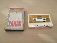 VERY RARE ZANAC COMPILE SHOOT MSX TAPE K7 EUROPEAN VERSION COMPLETE IN BOX