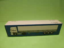 LION CAR 80 DAF TRUCKS FT 3300-3600 TRAILER- 1:50 GOOD - * ONLY EMPTY BOX * (18)