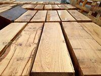 Solid OAK Beams Green English Oak / Mantle / Furniture / Timber Supply / sawn