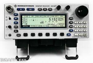 Rohde & Schwarz EB200 Miniport Radio Receiver 10 KHz - 3 GHz ***TSCM SUPERSET**