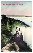 Early 1900s Above the Clouds on Wilson's Trail, CA Postcard