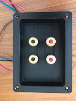 BOWERS WILKINS DM602 DM603 Speaker Crossover Terminal Tray B&W Genuine ZZ10094 D
