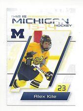 2013-14 Michigan Wolverines Alex Kile (Rochester Americans)