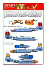 Kits World Decals 1/48 DOUGLAS A-26 INVADER Hard to Get & Silver Dragon