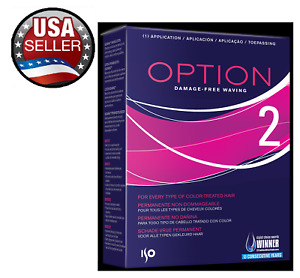 ISO OPTION #2 PERM KIT for Every Type Of Color-Treated Hair Professional 11.50oz