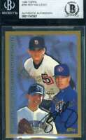 Roy Halladay 1998 Topps Rookie BAS Beckett Coa Autograph Authentic Hand Signed