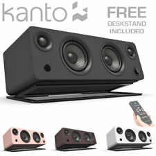 KANTO SYD Active Powered Bluetooth Speaker + Phono Pre-Amp + Optical + Remote
