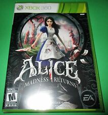 Alice Madness Returns Xbox 360 -  Factory Sealed!! Free Shipping!!