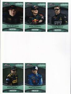 2009 Showcase 3rd Gear GREEN NUMBERED PARALLEL #20 Reed Sorenson #23/50! SCARCE!
