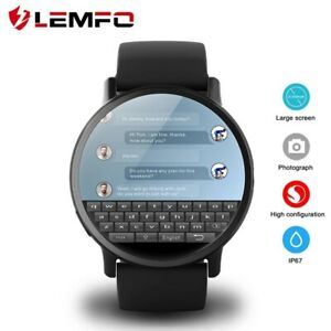 LEMFO LEM X 4G Smart Watch Android 7.1 GPS Wifi 2.03 Inch 8MP Camera Heart rate