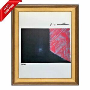 Andy Warhol Hand Signed Original Print with COA - Shadow IV, 1979