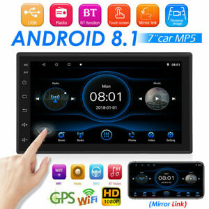2DIN 10 Inch HD Touch Car Stereo MP5 Player Android GPS WiFi FM Radio Head Unit