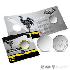 Batman 80 years create your own Bat-signal mirror/reflective silhouette coin DC