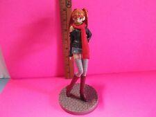 "Gainax/Project Eva Asuka Langley 8""in Figure Sega 2008 Bundled Up for Winter"