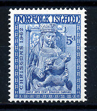 NORFOLK ISLAND 1962 CHRISTMAS SG49 IMPRINT BLOCK OF 4 MNH