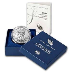 2018 W AMERICAN EAGLE SILVER 1 OZ. Dollar PROOF .999 Silver West Point US MINT