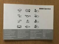BMW 5-Series SERVICE BOOK BRAND NEW GENUINE F10 / F11 / F07 / F18