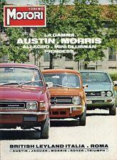 Torino Motori - Speciale British Leyland Italia - Gamma Austin Morris 1977 ITA