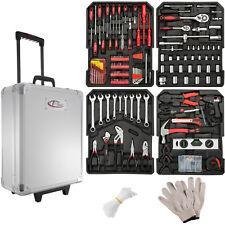 599 piezas maleta de herramientas trolley caja martillo alicates maletin ruedas