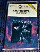 Morgoth ‎– Cursed. VG Cassette Tape MC Plays Well Death Metal Rare