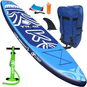 EXPLORER KOHALA 320 SUP Stand Up Paddle Surf Board ISUP Paddling Aqua inflatable