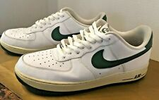 Nike Air Force 1 Low Top Retro Summit White   Forest Green Size 13 Mens 347eb431d
