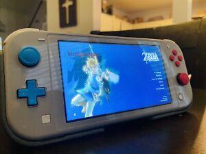 Nintendo Switch Lite Zacian & Zamazenta Edition w/Zelda BOTW, Genki Case + More!