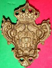 MONARCHY / PORTUGUESE MONARCHY / COAT OF ARMS / UNUSUAL BIG METAL OBJECT / MEDAL